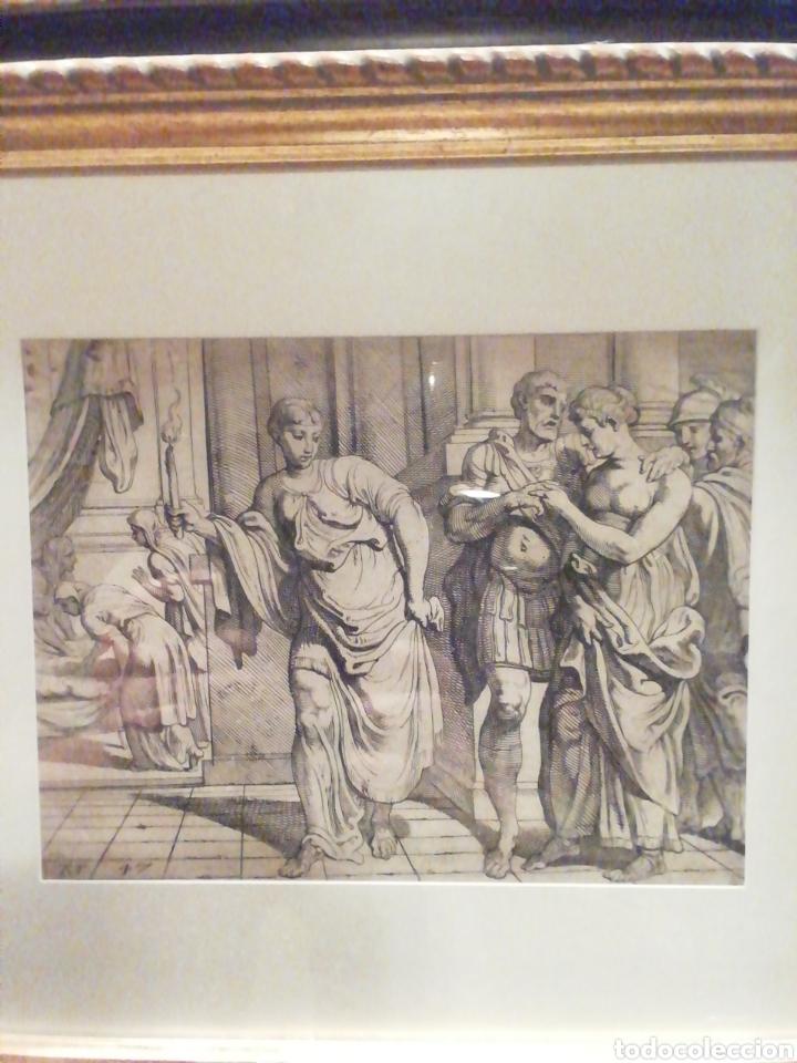 Arte: Lámina motivos griegos enmarcada - Foto 2 - 202930516