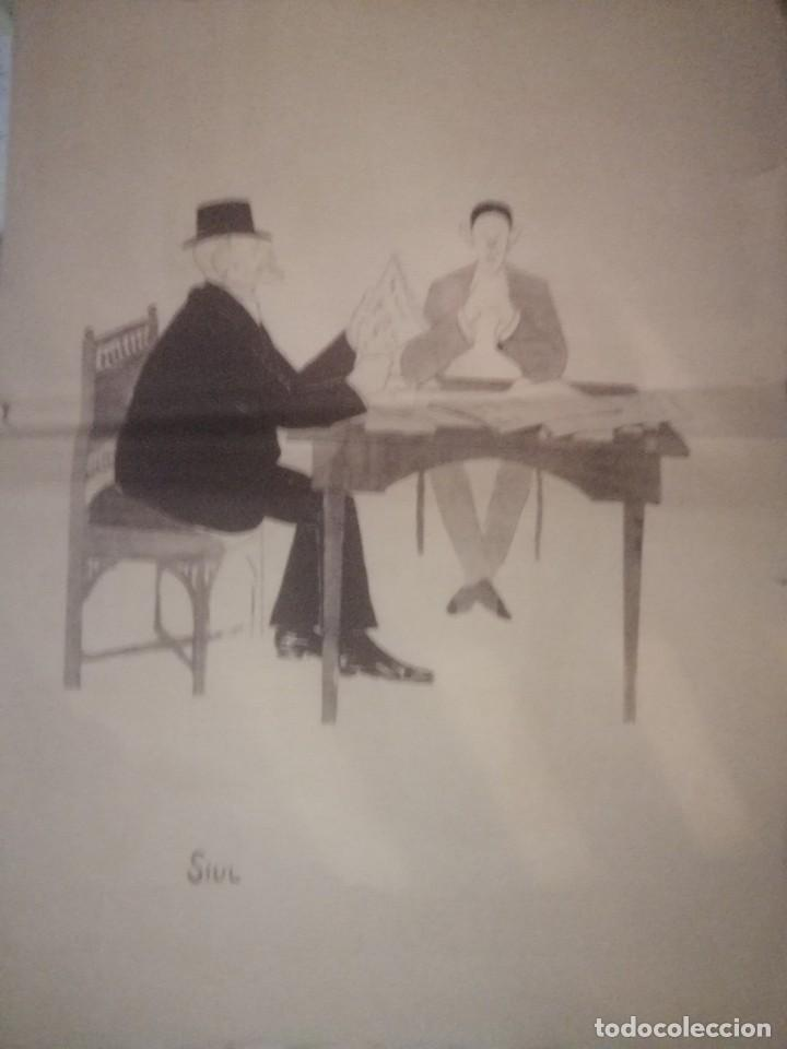 Arte: Cartel libreto a tres caras Siul una joya simbolizamdo la aristocracia Gaitana Jerezana y Sevillana - Foto 2 - 199640037