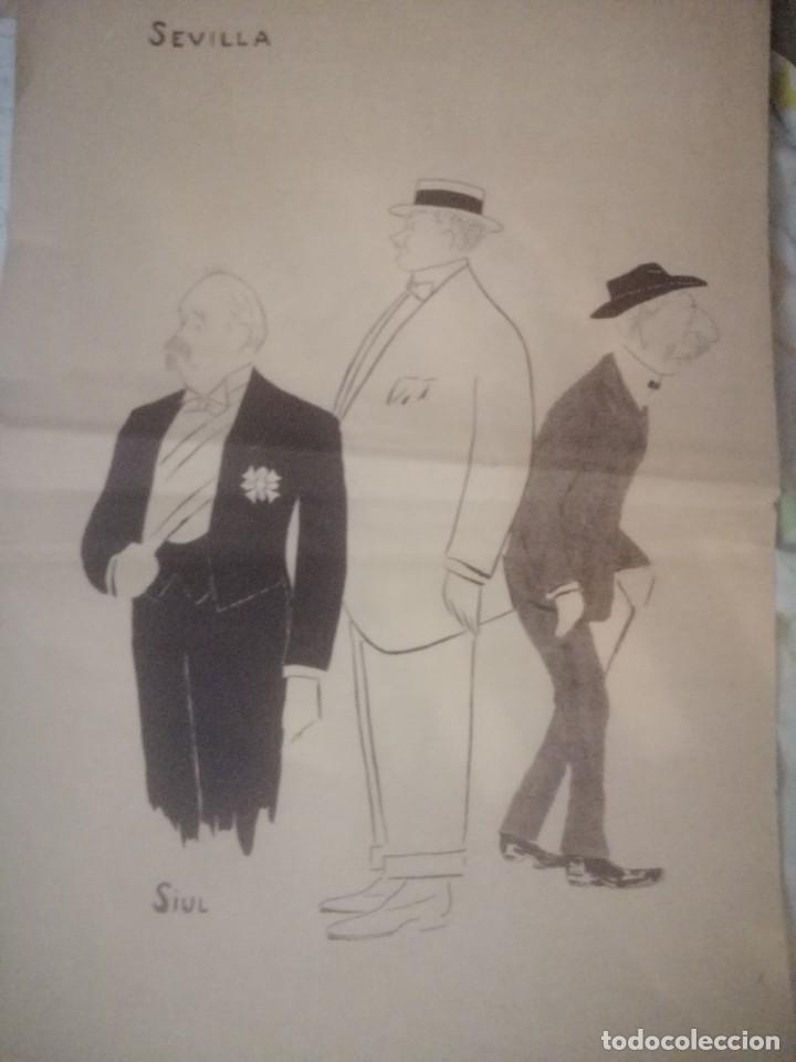 Arte: Cartel libreto a tres caras Siul una joya simbolizamdo la aristocracia Gaitana Jerezana y Sevillana - Foto 3 - 199640037