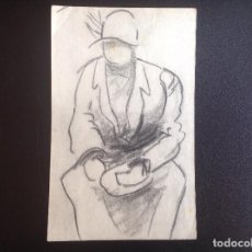 Arte: ANÓNIMO. FIGURA SENTADA. OCASIÓN.. Lote 204059053