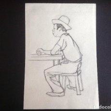 Arte: ANÓNIMO. EN LA TABERNA. OCASIÓN.. Lote 204060661