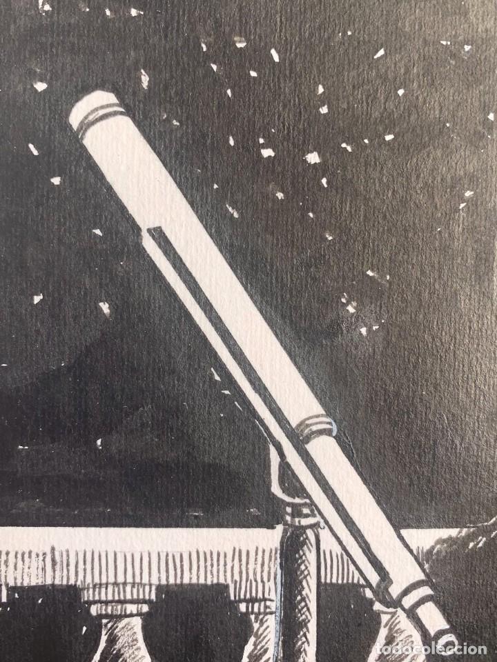 Arte: JOSEP GRACIA AGUILÁ - TELESCOPIOS-GALILEO GALILEI. PUBLICADO EN PLAZA & JANES - Foto 2 - 204095598