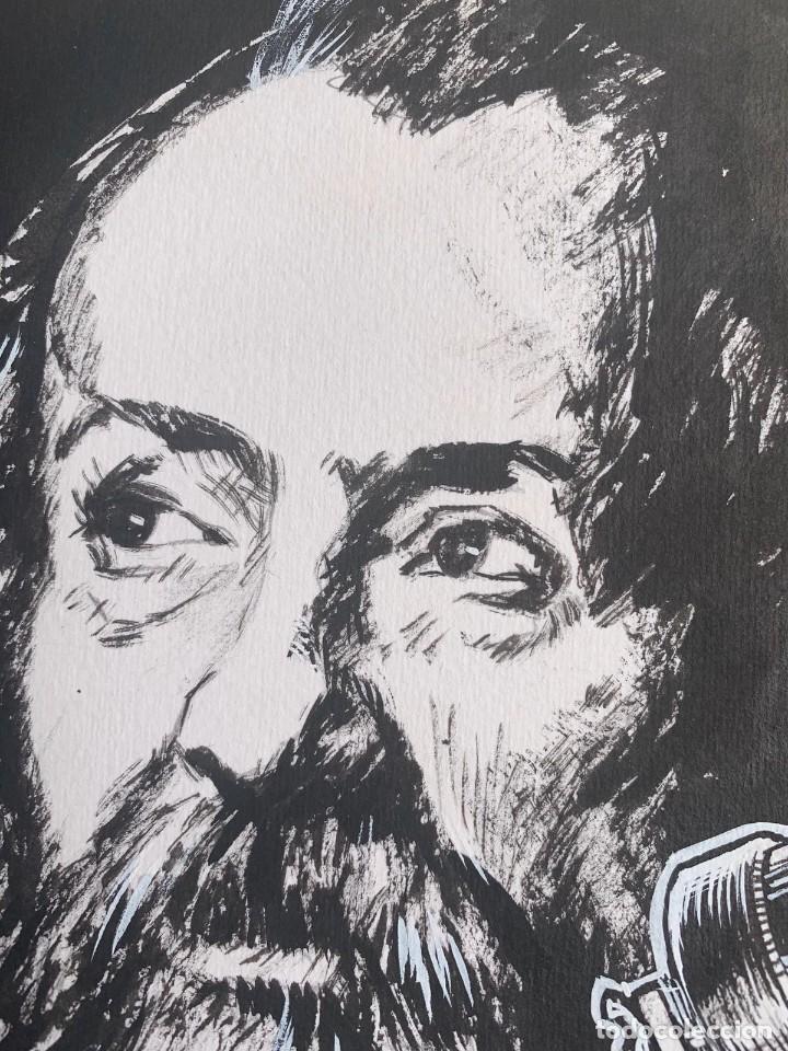 Arte: JOSEP GRACIA AGUILÁ - TELESCOPIOS-GALILEO GALILEI. PUBLICADO EN PLAZA & JANES - Foto 4 - 204095598
