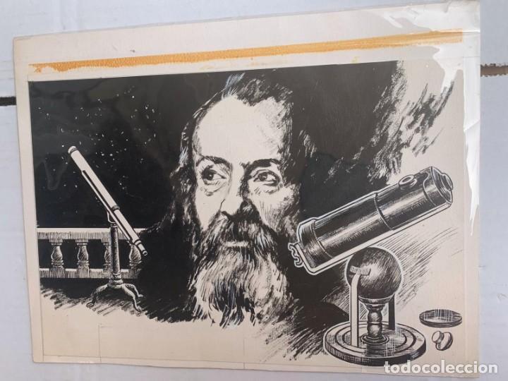 Arte: JOSEP GRACIA AGUILÁ - TELESCOPIOS-GALILEO GALILEI. PUBLICADO EN PLAZA & JANES - Foto 7 - 204095598