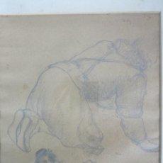 Arte: DIBUJO A LÁPIZ - APUNTES - EUSEBIO DIAZ COSTA, PINTOR CERAMISTA (OIX LA GARROTXA 1909-1964) - AÑO 27. Lote 204113960