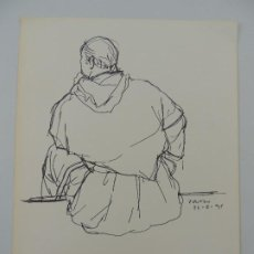 Arte: BONITO DIBUJO DE ANTONIO ZARCO AÑO 95. Lote 204312052