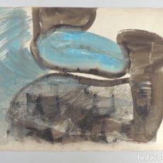 Arte: BONITO DIBUJO ABSTRACTO COLORES LLAMATIVOS. Lote 204313298