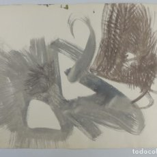 Arte: BONITO DIBUJO ABSTRACTO COLORES LLAMATIVOS. Lote 204313420