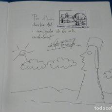 Arte: (MF) VISTOR FERNANDEZ - JOAN ABELLO DE PINCELES Y MOAIS, DIBUJO ORIGINAL DE JOAN ABELLO. Lote 204787328