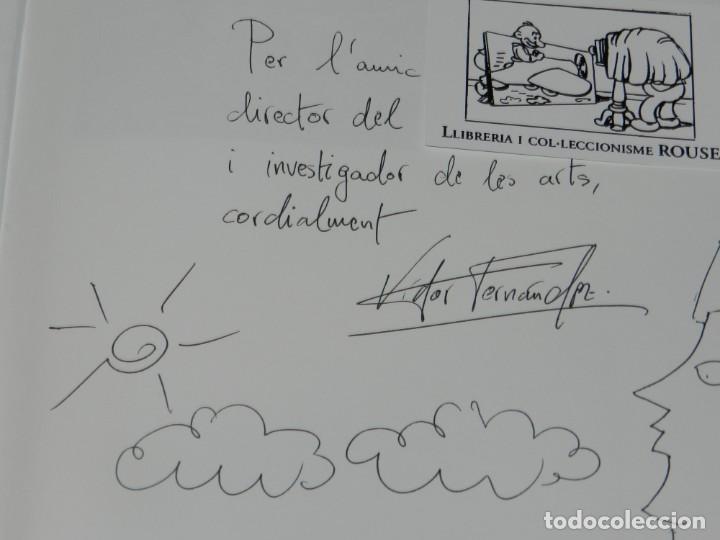 Arte: (MF) VISTOR FERNANDEZ - JOAN ABELLO DE PINCELES Y MOAIS, DIBUJO ORIGINAL DE JOAN ABELLO - Foto 2 - 204787328