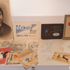 Arte: LOTE 35 DIBUJOS DEL LORENZO LAMARCA, DIBUJANTE AÑOS 20-30/ ORIGINALES.. Lote 204815707