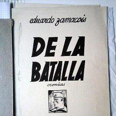 Arte: SALVADOR BARTOLOZZI (1882-1950). ILUSTRACIONES PARA 'DE LA BATALLA', DE EDUARDO ZAMACOIS. 1936. Lote 205094146