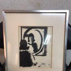 Arte: DIBUJO A LA TINTA FIRMADO POR JORDI CURÓS CON FECHA EN EL AÑO 1966. Lote 205140827