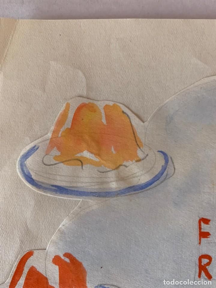 Arte: ORIGINAL PUBLICIDAD FRUTIGLAS M.E.M ZARAGOZA DE ELFI OSIANDER - Foto 6 - 205306652
