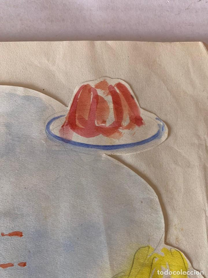 Arte: ORIGINAL PUBLICIDAD FRUTIGLAS M.E.M ZARAGOZA DE ELFI OSIANDER - Foto 7 - 205306652