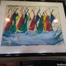 Arte: CUADRO PINTOR RECONOCIDO, HORTA E COSTA, ACRÍLICO.. Lote 205384625