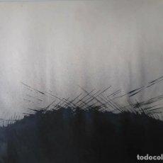 Arte: SERGE BONACASE: TINTA Y ACRÍLICO SOBRE CARTULINA. 65 X 50. Lote 205511782
