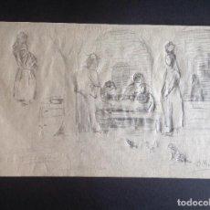 Arte: OVIDIO MURGUIA. PERSONAJES.. Lote 205525027