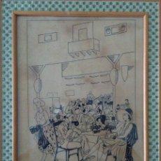 Arte: DIBUJO ORIGINAL CIRCA 1930. Lote 205660640