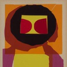 Arte: LUIS FEITO OBRA ORIGINAL Y ÚNICA COLLAGE FIRMADO NOEL 1974 ENMARCADO. Lote 205681756