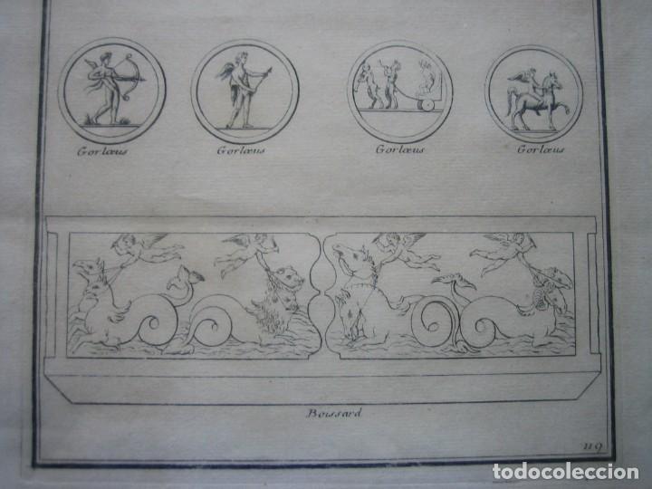 Arte: GRABADO SIGLO XVIII - CUPIDON - GORLAEUS - BOISSARD - PLANCHA 119 - OBRA FRANCESA DE 1722 - VER - Foto 4 - 205723407