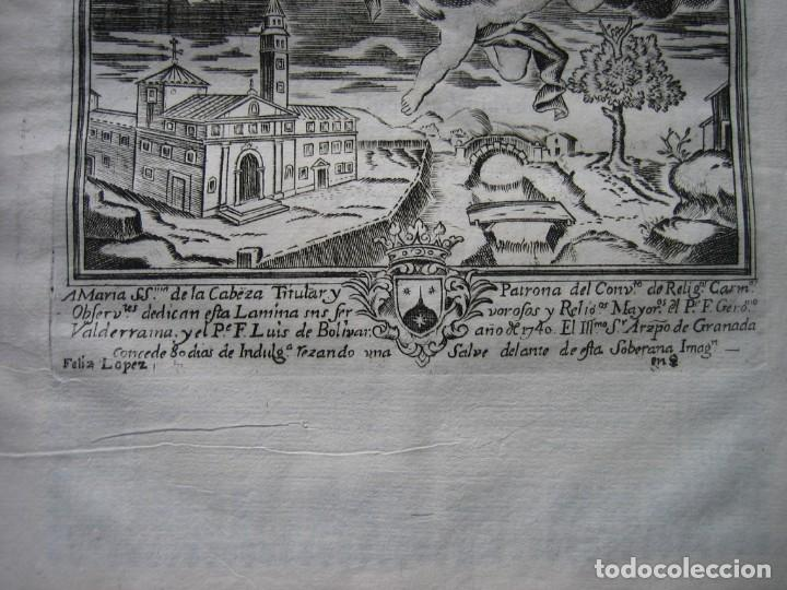 Arte: IMPRESO - PLEITO FAMILIA DE LOS PORTOCARRERO SOBRE MAYORAZGO PUEBLA MAESTRE 1752 CON GRABADO DE 1740 - Foto 5 - 205724286