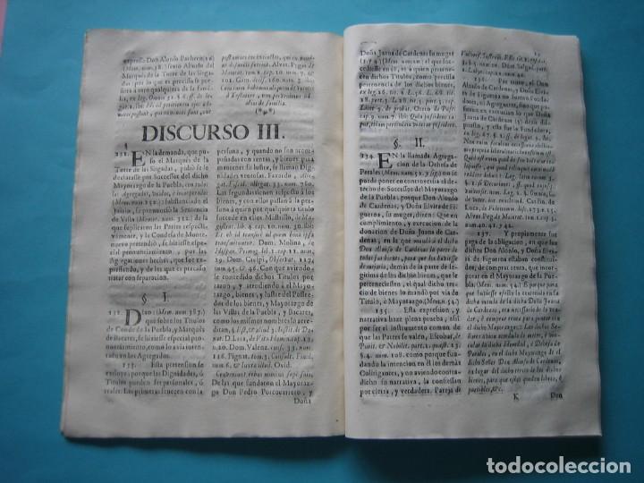 Arte: IMPRESO - PLEITO FAMILIA DE LOS PORTOCARRERO SOBRE MAYORAZGO PUEBLA MAESTRE 1752 CON GRABADO DE 1740 - Foto 13 - 205724286