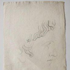 Arte: MAGISTRAL RETRATO CLÁSICO FIRMADO Y FECHADO HEINRICH MÜTHENS 1840, EXCELENTE CALIDAD. GRECIA, ROMA. Lote 205791750