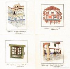 Arte: LUZ: ALMAGRO 2000-XXVI SIMPOSIUM ALUMBRADO CIUDAD REAL- COL 8 MINIATURAS 9X9,5CM. Lote 205871703