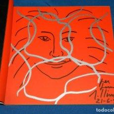 Arte: (M) CATALOGO ROBERT LLIMÓS 1965 - 1998 CONTIENE UN DIBUJO ORIGINAL DE ROBERT LLIMÓS. Lote 206226887