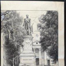 Arte: NICANOR VÁZQUEZ (1861-1930) MONUMENTO AL ALMIRANTE GUILLERMO BROWN EN ADROGUÉ. Lote 206250437