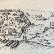 Arte: NICANOR VÁZQUEZ (1861-1930) ILUSTRACIÓN. Lote 206250940