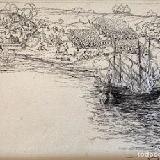 Arte: NICANOR VÁZQUEZ (1861-1930) ILUSTRACIÓN. Lote 206251891