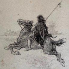 Arte: NICANOR VÁZQUEZ (1861-1930) ILUSTRACIÓN. Lote 206252446
