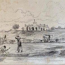 Arte: NICANOR VÁZQUEZ (1861-1930) ILUSTRACIÓN. Lote 206255288