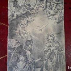 Arte: LOTE DE TRES BOCETOS O APUNTES A CARBONCILLO O LAPIZ DE PINTURAS RELIGIOSAS DE SIGLO XVIII-XIX. Lote 206299086