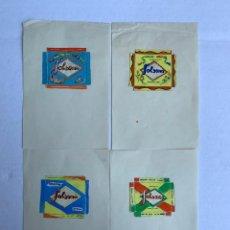Arte: CUATRO ORIGINALES PUBLICIDAD GALLETAS SOLSONA DE ELFI OSIANDER. Lote 206357697