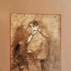 Arte: PEQUEÑO DIBUJO DE DOMENEC CARLES ROSICH. EN 1911. Lote 206417775