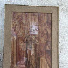 Arte: SANGUINA DIBUJO AYUNTAMIENTO BARCELONA ESTUDIO DECORACION SALA CIUDAD 1965 1966 PROCES SANTA EULALIA. Lote 207191468