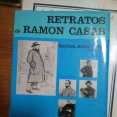 Arte: RETRATOS DE RAMÓN CASAS. Lote 207247277
