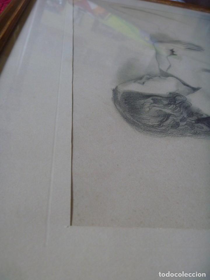 Arte: TORSO MUJER DESNUDA GRAN DIBUJO FRANCESC DOMINGO SEGURA - Foto 11 - 207793525