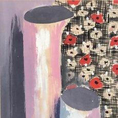 Arte: SALVADOR AULÈSTIA (BARCELONA 1919 - MILÁN 1994) DIBUJO TINTA. Lote 207801021