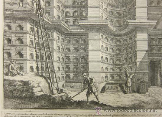 Arte: Girolamo Rossi - Estudio arquitectónico - Foto 8 - 125047731