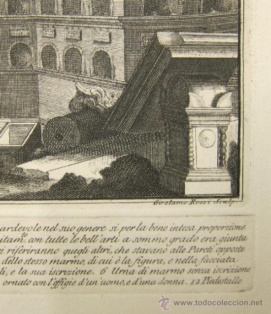 Arte: Girolamo Rossi - Estudio arquitectónico - Foto 9 - 125047731