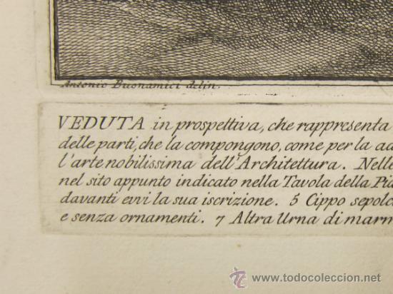 Arte: Girolamo Rossi - Estudio arquitectónico - Foto 10 - 125047731