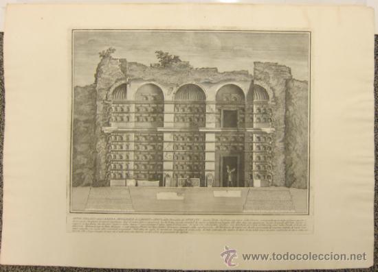 Arte: Girolamo Rossi - Estudio arquitectónico - Foto 6 - 171964572