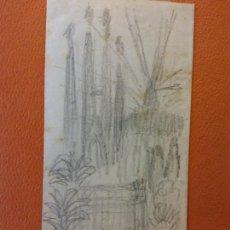 Arte: ORIGINAL. OBRA DE FRANCESC GASSÓ. PLANTAS. MEDIDAS 15*7 CM. Lote 209204147