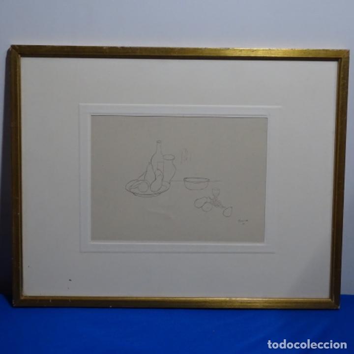 Arte: Excelente Dibujo noucentista de Pere pruna a plumín.año 1921. - Foto 2 - 209216393