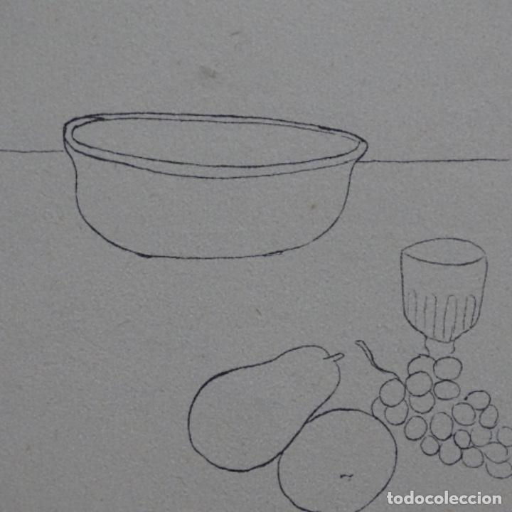 Arte: Excelente Dibujo noucentista de Pere pruna a plumín.año 1921. - Foto 7 - 209216393