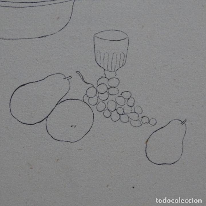 Arte: Excelente Dibujo noucentista de Pere pruna a plumín.año 1921. - Foto 8 - 209216393